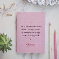Virginia Woolf Women Writers Pocket Notebook