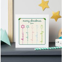 Personalised Icon Christmas Cards