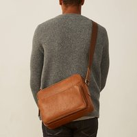 Personalised Soft Leather Shoulder Bag Santino M