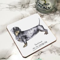 Dachshund Dog Drinks Coaster