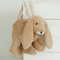 Brown Bunny Scarf And Matching Bag, Gift Boxed