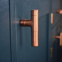 Kitchen Cabinet Knob/Pull Handle Made From Pure Copper