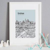 Personalised Peckham Print