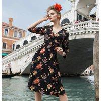 Loretta Wrap Dress | Authentic Vintage 1940s Style
