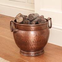 Handmade Fireside Fuel Bucket