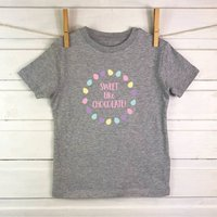 Sweet Like Chocolate Kids Easter T Shirt