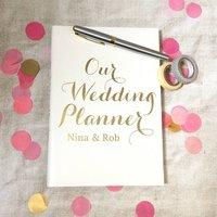 Personalised Wedding Planner Journal