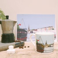 Bristol's The Thekla Illustrated Bone China Mug