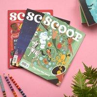 Scoop Magazine Three Issue Bundle