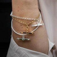 T Bar Bracelet