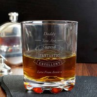 Personalised 'You Are Fantastic...' Whisky Glass