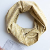 Washable Seamless Snood With Filter Inserts