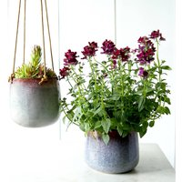 Mulberry Haze Plant Pot