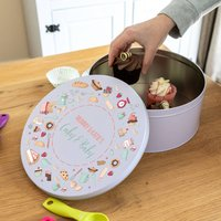 Personalised Cakes And Bakes Cake Tin