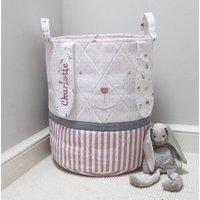 Personalised Bunny Rabbit Toy Bag/Laundry Bag