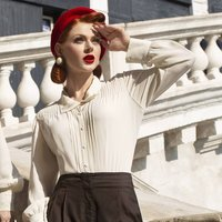 Alice Blouse | Authentic Vintage 1940's Style