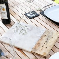 Personalised Marble Serving Platter