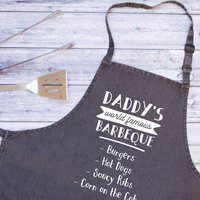Personalised Daddy's World Famous Apron