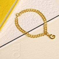 Childrens 18ct Gold Vermeil Personalised Bracelet, Gold