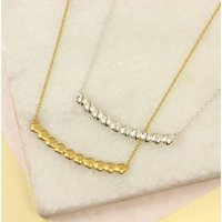 Flower Curve Necklace