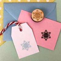 Kawaii Winter Snowflake Polymer Stamp