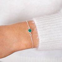 Personalised Semi Precious Stone Bracelet
