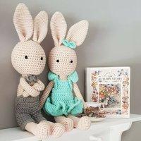 Crochet Bunny Handmade And Super Soft