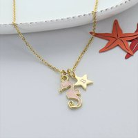 Personalised Seahorse Necklace