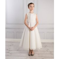 Tilly Dress, White/Ivory/Pale Pink