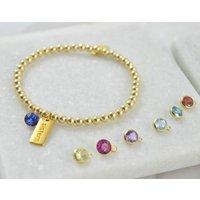 24k Gold Filled Sisters Bracelet, Gold