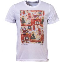 Mens Christmas Essentials Wrapping Paper Tshirt