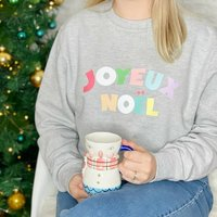 Joyeux Noel Multicoloured Sweatshirt