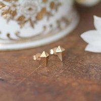 Nova Gold Kite Earrings, Gold