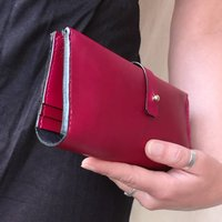 Personalised Leather Bifold Purse