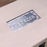 Personalised Name Memory Box