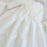 Long Sleeved Christening Gown Rebekah