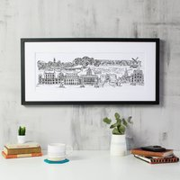 Nottingham Skyline Fine Art Print