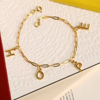 Create Your Own Letter Charm Bracelet