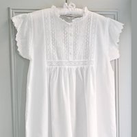 Polo Short Sleeve Cotton Nightdress