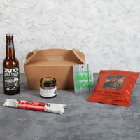 Man Box Cider And Spicy Snacks Gift Box