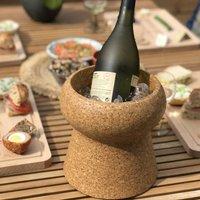 Cork Ice Bucket Wine Cooler