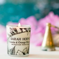 Petite 9cl Freesia And Orange Blossom Scented Candle