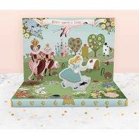 Adventures In Wonderland Music Box Card