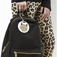 Personalised 'Cat' Luggage Tag
