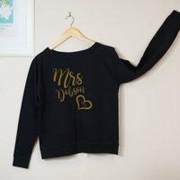 Mrs Wedding Sweatshirt