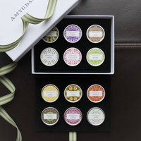 Solid Perfume Blending Palette Gift Set Of 12