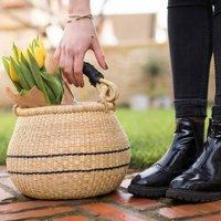 Pot Shopping Bolga Basket