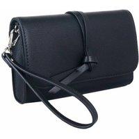 Knotted Tassel Cross Body Bag In Black