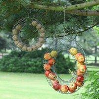 Sage Green Garden Bird Feeder Ring