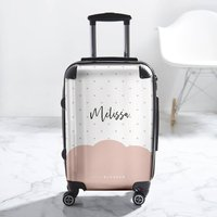 Monogram Sweetheart Suitcase